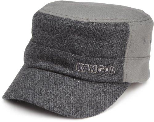 Imagen de kangol textured wool army cap , grau flannel , large para hombre