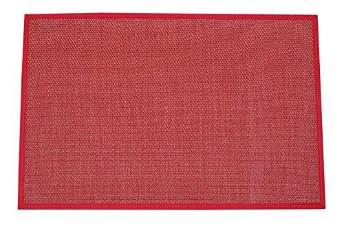 Stor Planet Alfombra, Vinilo, Rojo, 120 x 180 cm