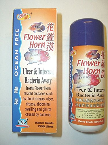 FLOWER HORN ULCER & INTERNAL BACTERIA AWAY 150ML