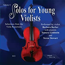 Solos for Young Violists, Vol 4: Selections from the Viola Repertoire