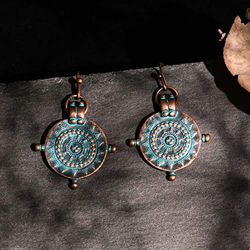 Earrings Humble Attractive Sky Beads Oxidized Silver Plated Earring Hook Jhumka Jewelry N-55