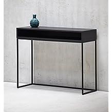 suchergebnis auf f r konsolentisch schwarz. Black Bedroom Furniture Sets. Home Design Ideas