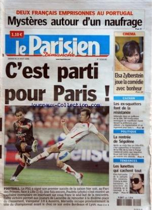 PARISIEN (LE) du 20/08/2006 - DEUX FRANC...