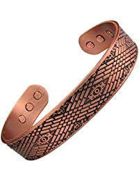 MPS® MEDUE Pure Copper Magnetic Bangle with Six magnets, M size