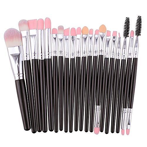 Makeup Brushes,Professionnelle Kits ,Ensemble De 20 Pinceaux pour Le Maquillage, Ensemble De Toilette, Trousse De Toilette en Laine, Ensemble pour Pinceau à Maquillage Makeup Brushes