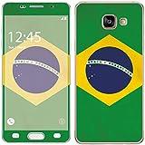 Royal Sticker RS.127916 Autocollant pour Samsung Galaxy A3 2016 Motif Drapeau Brasil