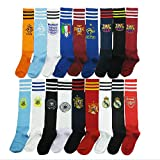 #3: Auxter Club Soccer/Football Socks Stockings assorted colors (Set of 3)