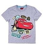 Disney Cars T-Shirt Jungen (116, grau)