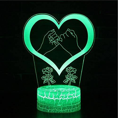 3D LED Nachtlicht Visual 7 Farben Illusion Indien Lord Elephant God Lamp mit Remot Touch Tischlampe Geburtstagsgeschenke