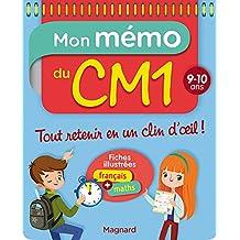 Mon Memo du CM1 9 10 Ans