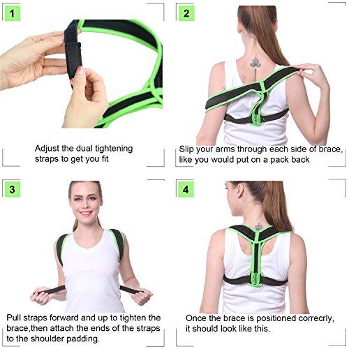 Zoom IMG-3 lepfun pc550 back posture corrector