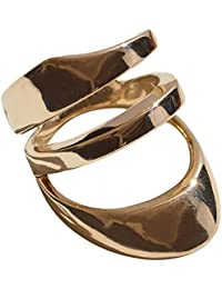 Pamela Love Women's Gold Plated Brass Large Agnes Ring Size