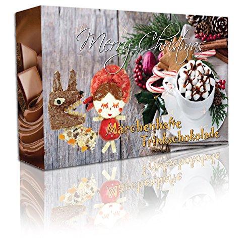 "C&T Trinkschokolade Adventskalender ""Märchenhafte Trinkschokolade"" 2017 (No2) Kakao Test"