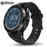 Ritapreaty Smart Watch 16 GB Großer Speicher 1,4-Zoll-Großbildschirm Zeblaze THOR 4 Plus GPS Bluetooth 4.0
