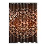 Dalliy Aztekische Stein afrikanischer Kunst Fenstervorhang Vorhang Window Curtain Polyester 52