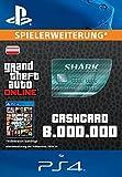 Grand Theft Auto Online | GTA V Megalodon Shark Cash Card | 8,000,000 GTA-Dollars | PS4 Download Code - österreichisches Konto