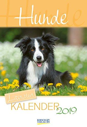 Literaturkalender Hunde 2019: Literarischer 2-Wochenkalender * 2 Wochen 1 Seite * literarische Zitate und Bilder * 16,5 x 24 cm