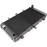 gzyf negro aluminio refrigeración Radiador Enfriador para Kawasaki Z7502004–2006/Z750S 2005–2007
