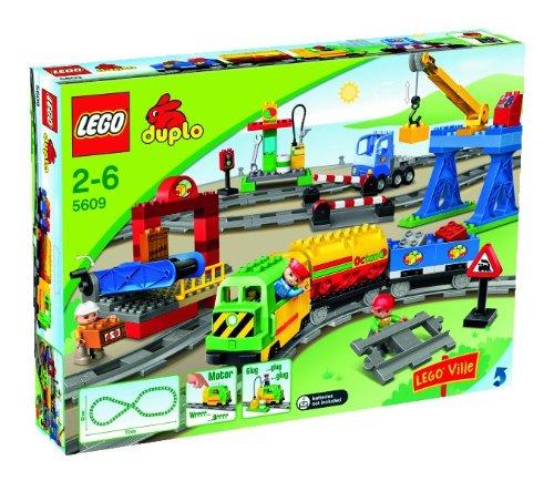 Preisvergleich Produktbild LEGO Duplo 5609 - Eisenbahn Super Set