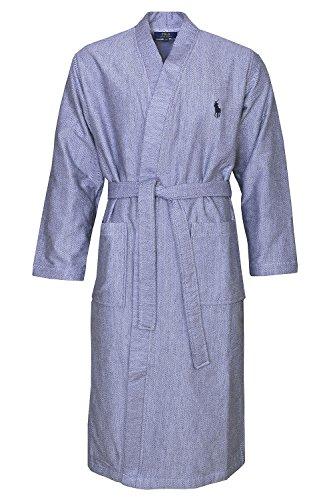 Polo Ralph Lauren Bademantel Hausmantel Kimono Robe 2XL/3XL Cruise Navy (Polo Ralph 3xl Lauren)