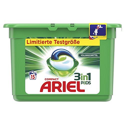 Ariel 3in1 Pods Regulär, 27Gr - 15WL, Sondergröße
