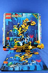 lego system aquanauts 6175 aquanaut u boot deep sea. Black Bedroom Furniture Sets. Home Design Ideas