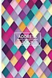 "Address Book: Personalized Address Book 6""x9"" 107Pages 312Spaces For Name, Address, P..."
