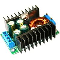fgyhtyjuu 300W DC-DC MAX 9A Step Down Buck Converter 5-40V to 1.2-35V Adjustable Power Supply Module LED Driver