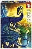 Educa 17311.0 - Puzzle - 500 Eragon & Saphira, Ciruelo