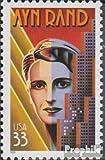 Prophila Collection USA 3115 (kompl.Ausg.) 1999 Ayn Rand (Briefmarken für Sammler)