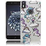 bq Aquaris X5 Plus Einhorn Baby süße Handy-Hülle Silikon - staubdicht, stoßfest & leicht - Smartphone-Case thematys