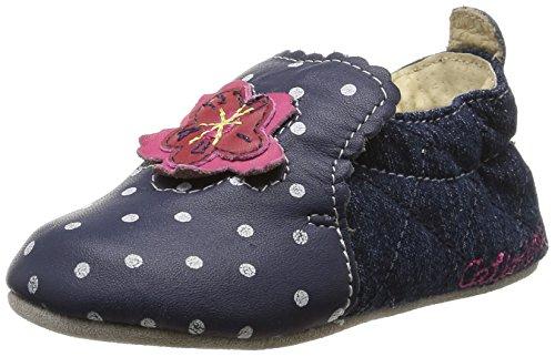 Catimini Coudou, Baby Mädchen Krabbelschuhe Blau (vts Bleu/jeans Dpf/souple)