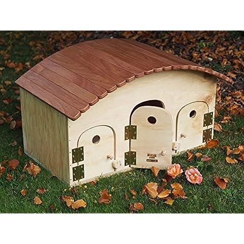 Novità Blitzen, Cuccia per gatti outdoor con tetto tiragraffi,Motel WP, termoregolato adatto per esterno 3/4 posti