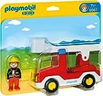 PLAYMOBIL 6967 - Feuerwehrleiterfahrz...