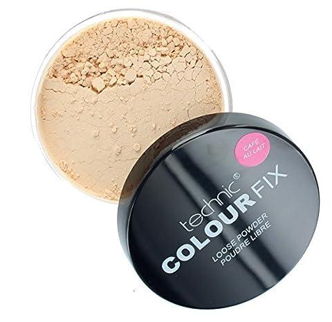Technic Colour Fix Loose Face Powder 20g-Cafe Au Lait