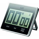 Silit 2141288619 Digitaler Kurzzeitmesser Attimo, schwarz
