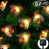 Mr.Twinklelight Solar String Lights 30 LED Honeybee Solar Powered Fairy String Lights
