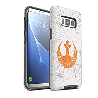 Stuff4 Gloss Tough Shock Proof Phone Case for Samsung Galaxy S8/G950 / Rebel Alliance Inspired Design/Galactic Symbol Art Collection