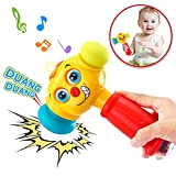 Baybee Baby Toys Light& Musical Baby Hammer Toy - Multi-Function,Lights Music Toddlers Infant