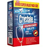 Crystale Dishwasher Tablets - 100 Count