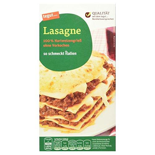 Tegut Lasagne-Platten, 500 g