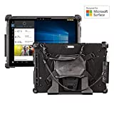 mobiledemand Military fallgetestet Premium Rugged Case für Microsoft Surface Pro LTE/4/2017, Schwarz