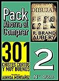 Pack Ahorra al Comprar 2 (Nº 023): 301 Chistes Cortos y Muy Buenos & Aprende a dibujar en una hora