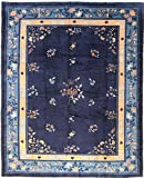 Nain Trading China Antik 416x336 Orientteppich Teppich Beige/Dunkelblau Handgeknüpft China