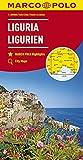 MARCO POLO Karte Italien Blatt 5 Ligurien 1:200 000: Wegenkaart 1:200 000 (MARCO POLO Karten 1:200.000)