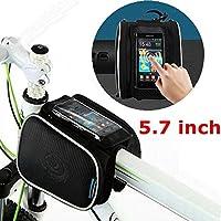 Bazaar 5.7inch roswheel 1.8l borsa bici bicicletta Pannier sacchetto anteriore del tubo - Biciclette Pannier