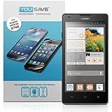 Yousave Accessories Film Protection Huawei Ascend G740 Écran Protecteur Garde Paquet 3