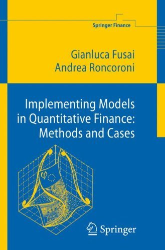 Implementing Models in Quantitative Finance: Methods and Cases (Springer Finance) by Gianluca Fusai (2010-11-23)