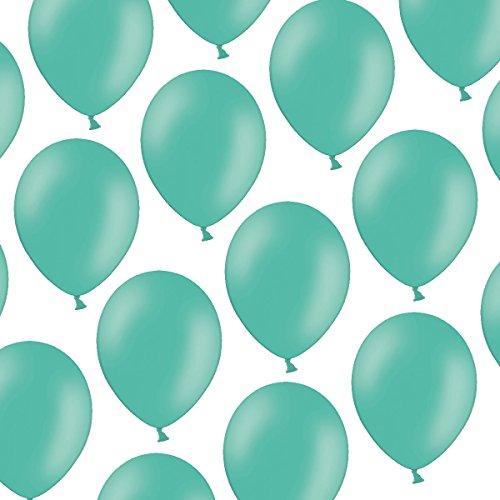 cm - Pastell Aquamarine - Formstabil - Kleenes Traumhandel® (Um Baloons)