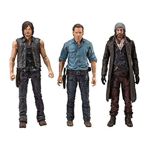 McFarlane Toys The Walking Dead Allies Deluxe Box Set Actionfigur (3 Stück), 5